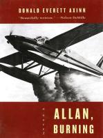 Allan, Burning