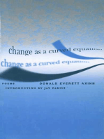 Change As A Curved Equation