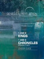 Genesis to Revelation