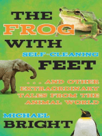 The Frog with Self-Cleaning Feet
