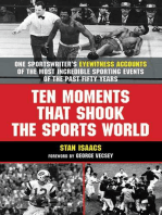 Ten Moments that Shook the Sports World