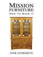Mission Furniture: How to Make It