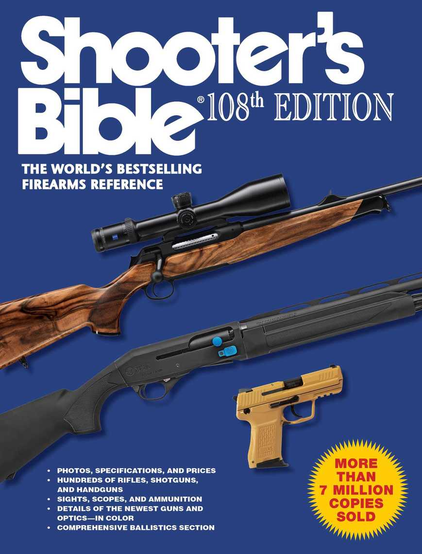 Shooter's Bible, 108th Edition - Read Online
