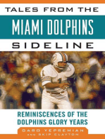 Tales from the Miami Dolphins Sideline