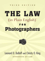 The Law (in Plain English) for Photographers