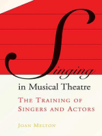Singing in Musical Theatre: The Training of Singers and Actors