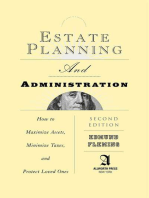 Estate Planning and Administration