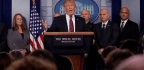 Trump's Strange, Fleeting Briefing-Room Cameo