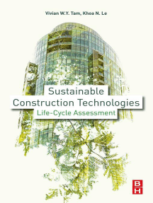 Sustainable Construction Technologies: Life-Cycle Assessment