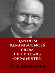 Random Reminiscences from Fifty Years of Ministry