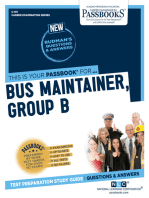 Bus Maintainer, Group B