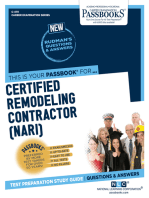 Certified Remodeling Contractor (NARI)