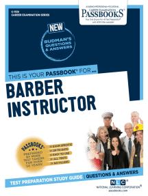 Barber Instructor: Passbooks Study Guide