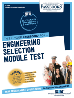 Engineering Selection Module Test