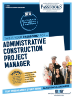 Administrative Construction Project Manager