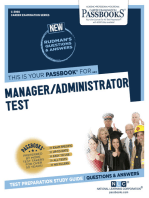 Manager/Administrator Test