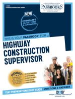 Highway Construction Supervisor