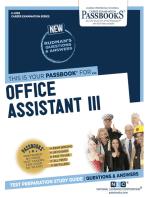 Office Assistant III