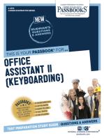 Office Assistant II (Keyboarding)