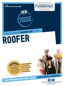 Roofer: Passbooks Study Guide