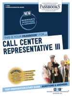 Call Center Representative III