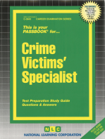 Crime Victims' Specialist