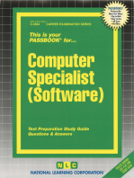 Computer Specialist (Software)