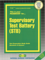 Supervisory Test Battery (STB)