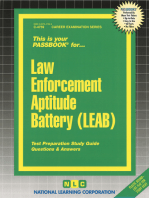 Law Enforcement Aptitude Battery