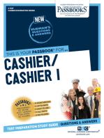 Cashier/Cashier I