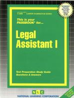 Legal Assistant I