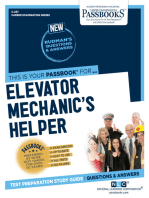 Elevator Mechanic's Helper