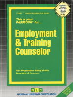 Employment & Training Counselor