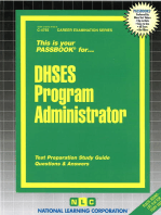 DHSES Program Administrator