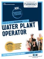 Water Plant Operator