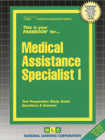 Medical Assistance Specialist I