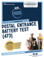 Postal Entrance Battery Test (473)