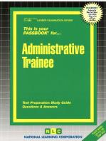 Administrative Trainee