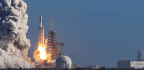 Christmas Turkey, Fruitcake Rocketing Toward Space Station