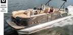 Tahoe Pontoon Boats 2785 Vision Rear Electric Lounge