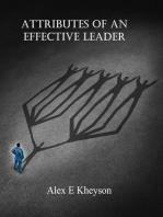 Attributes of an Effective Leader