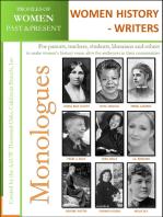 Profiles of Women Past & Present