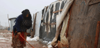 Heavy Winter Storm Wrecks Syrian Refugee Camps In Lebanon