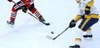 Alex DeBrincat Returns To Top Line, But Blackhawks Fall To Predators In OT