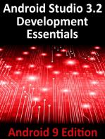 Android Studio 3.2 Development Essentials - Android 9 Edition