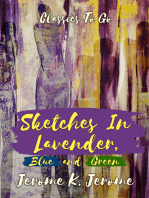 Sketches in Lavender, Blue and Green