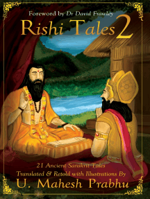 Rishi Tales 2: 21 Ancient Sanskrit Tales Translated & Retold With Illustrations