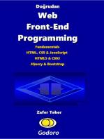 Doğrudan Web Front-End Programming