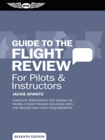 Guide to the Flight Review For Pilots & Instructors
