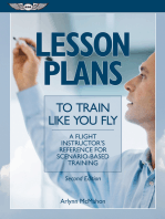 Lesson Plans to Train Like You Fly